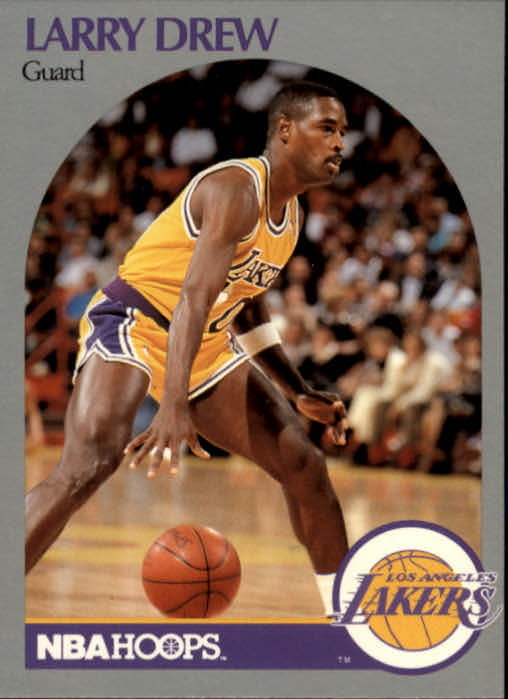 1990-91 Hoops #155 Larry Drew