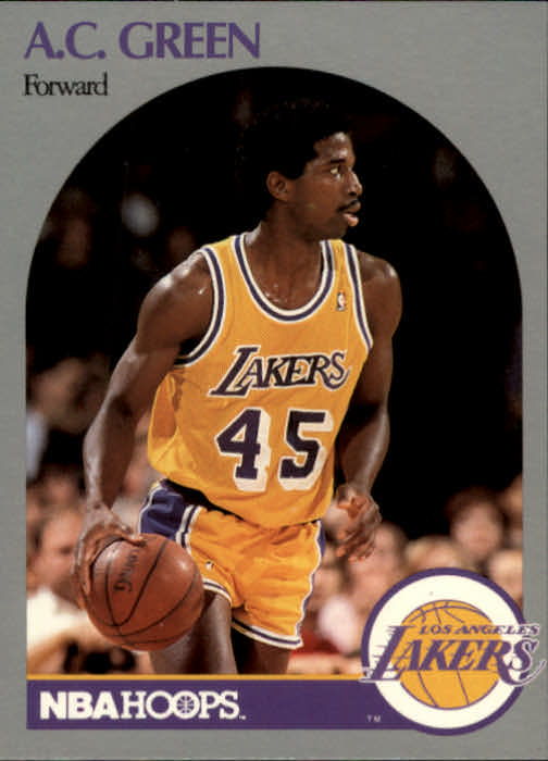 1990-91 Hoops #156 A.C. Green