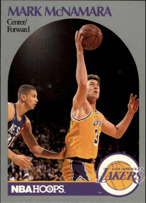 1990-91 Hoops #158 Mark McNamara SP