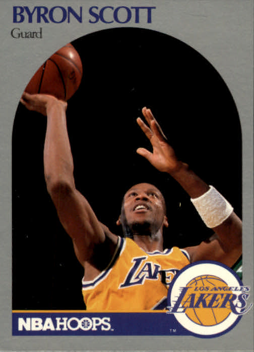 1990-91 Hoops #159 Byron Scott
