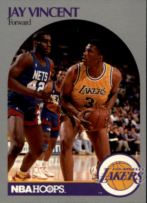 1990-91 Hoops #161 Jay Vincent SP