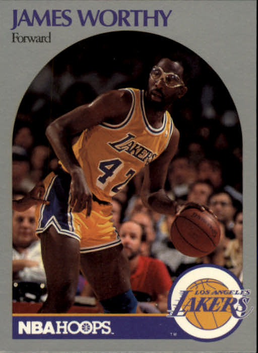 1990-91 Hoops #163 James Worthy