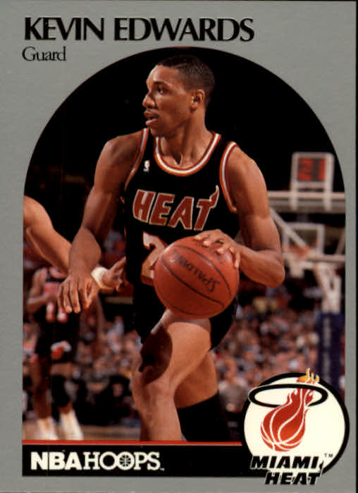 1990-91 Hoops #165 Kevin Edwards