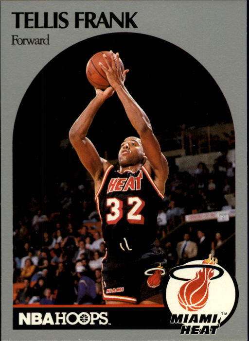 1990-91 Hoops #166 Tellis Frank SP