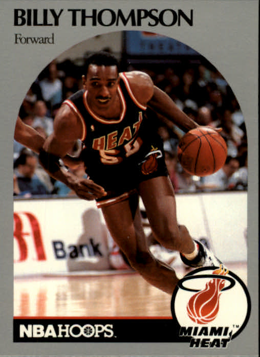 1990-91 Hoops #171B Billy Thompson