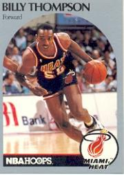 1990-91 Hoops #172A Billy Thompson