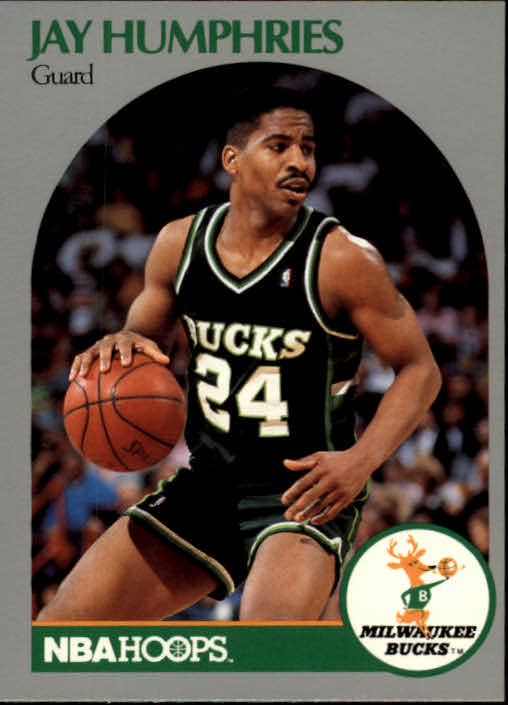 1990-91 Hoops #175 Jay Humphries