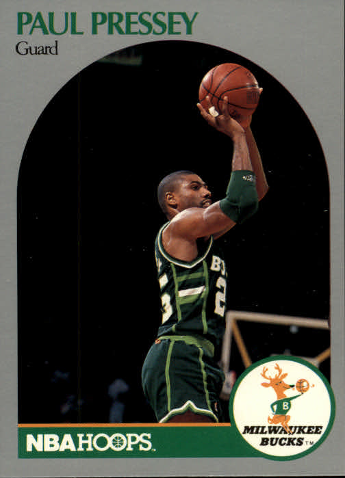 1990-91 Hoops #180 Paul Pressey SP