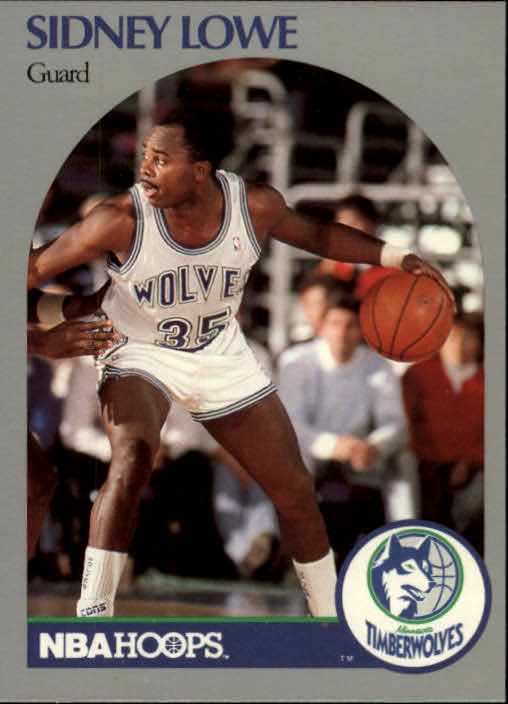 1990-91 Hoops #187 Sidney Lowe SP