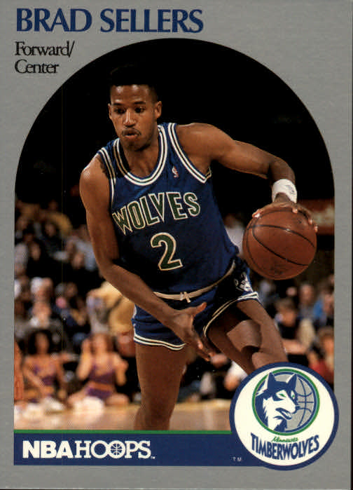 1990-91 Hoops #192 Brad Sellers SP
