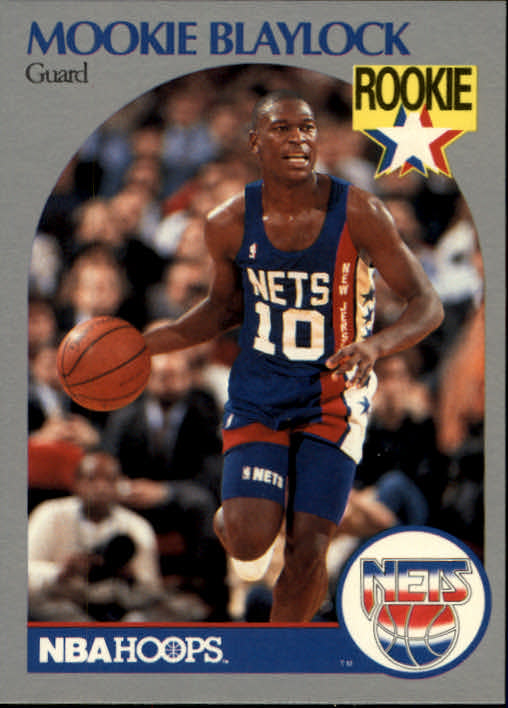 1990-91 Hoops #193 Mookie Blaylock RC