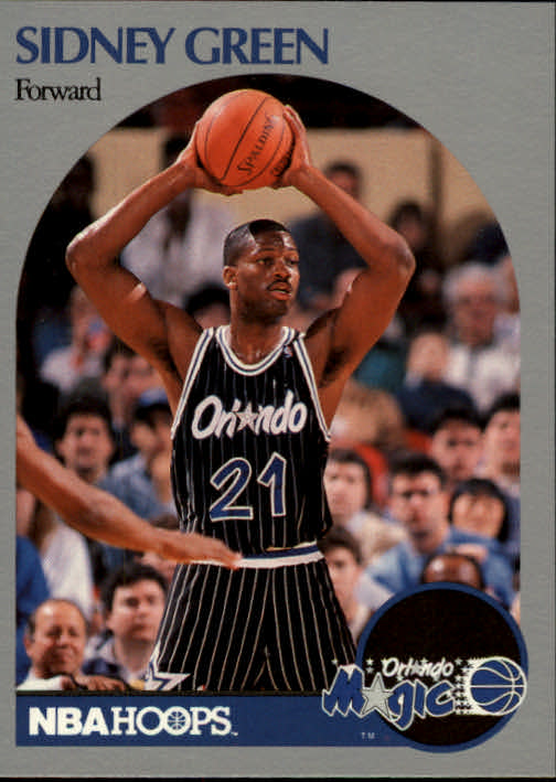 1990-91 Hoops #218 Sidney Green SP