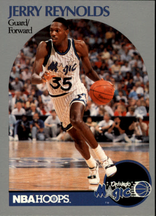 1990-91 Hoops #219 Jerry Reynolds