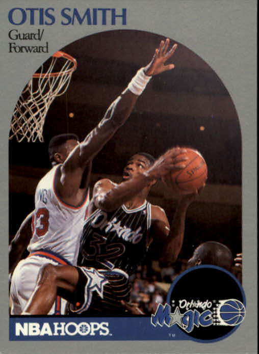 1990-91 Hoops #221 Otis Smith