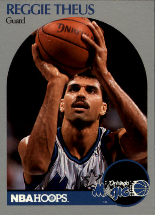1990-91 Hoops #222 Reggie Theus SP