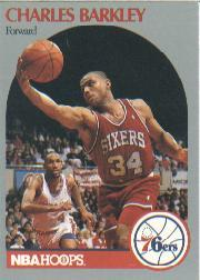1990-91 Hoops #225 Charles Barkley