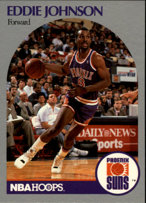 1990-91 Hoops #237 Eddie Johnson