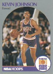 1990-91 Hoops #238B Kevin Johnson/(Second series; Forward on front)
