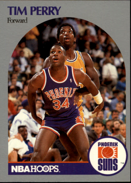1990-91 Hoops #240 Tim Perry
