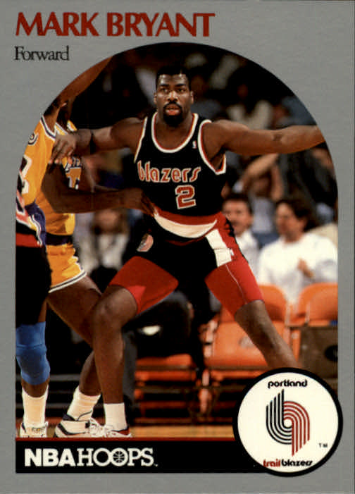 1990-91 Hoops #243 Mark Bryant