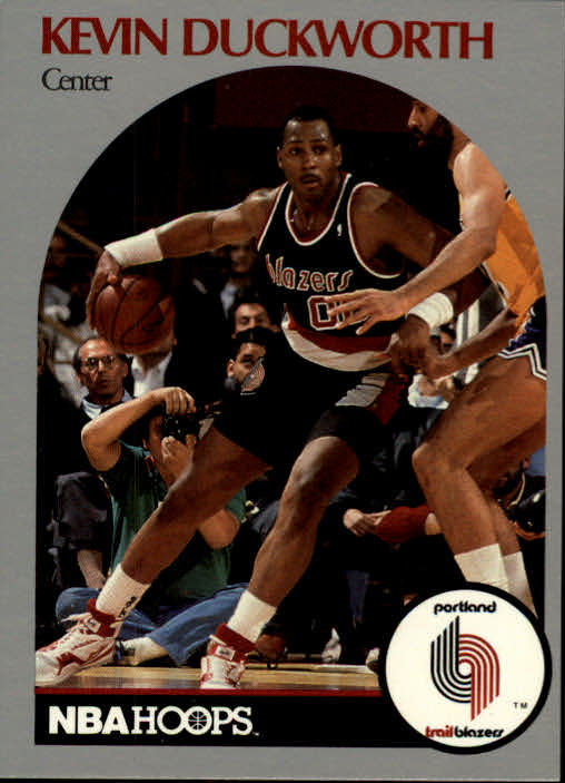 1990-91 Hoops #246 Kevin Duckworth