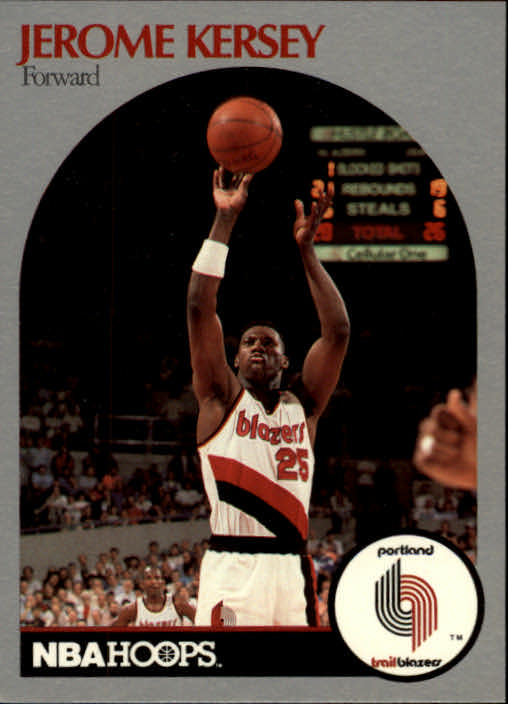 1990-91 Hoops #247 Jerome Kersey