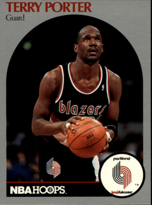 1990-91 Hoops #249B Terry Porter COR