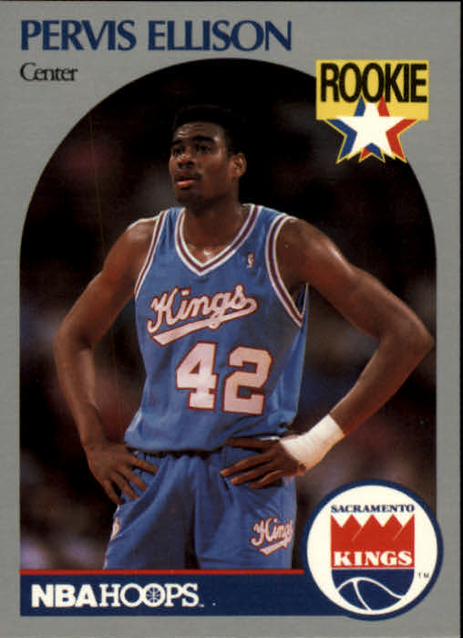 1990-91 Hoops #257 Pervis Ellison SP RC