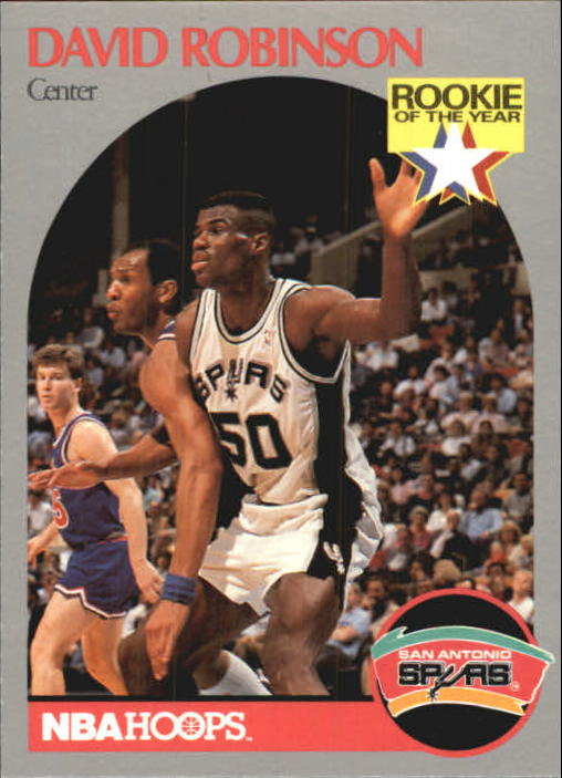 1990-91 Hoops #270 David Robinson
