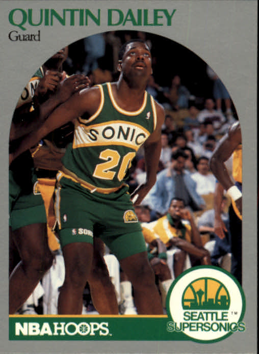 1990-91 Hoops #276 Quintin Dailey