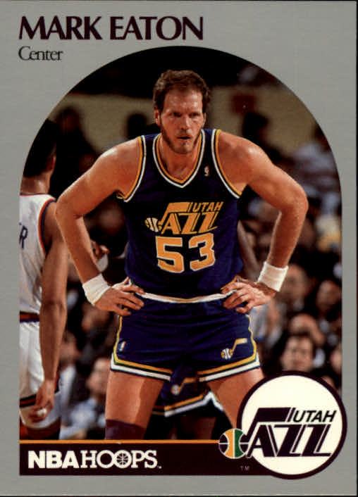 1990-91 Hoops #287 Mark Eaton UER