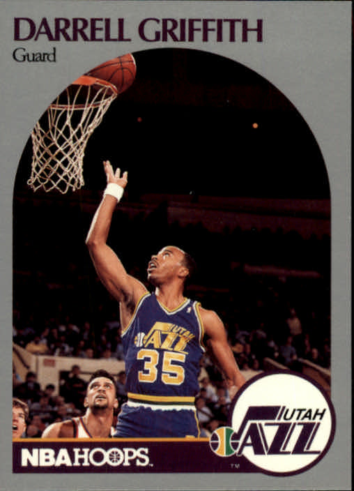 1990-91 Hoops #289 Darrell Griffith