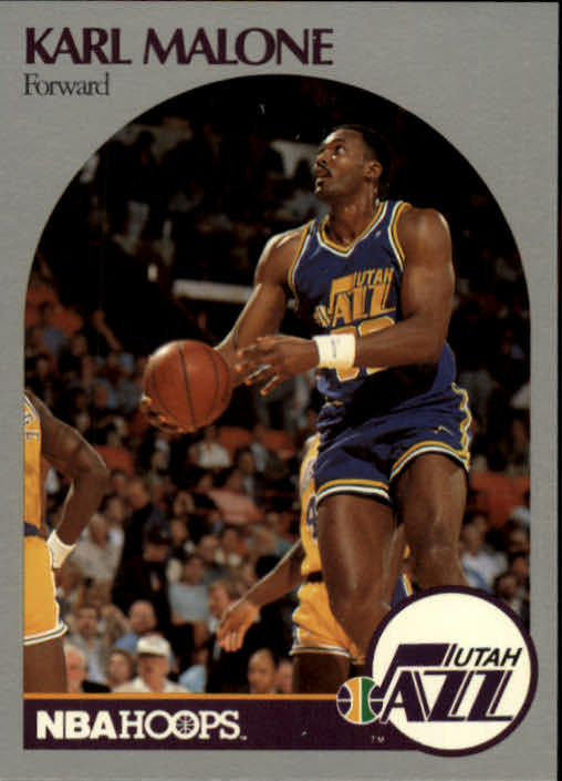 1990-91 Hoops #292 Karl Malone