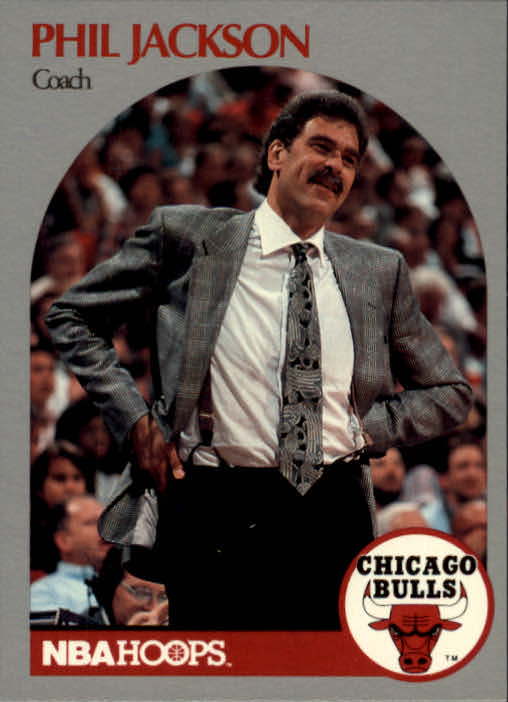 1990-91 Hoops #308 Phil Jackson CO