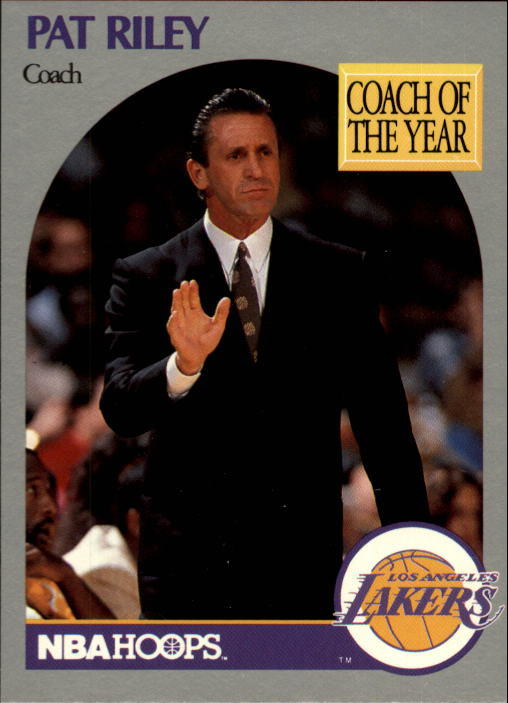 1990-91 Hoops #317 Pat Riley CO SP