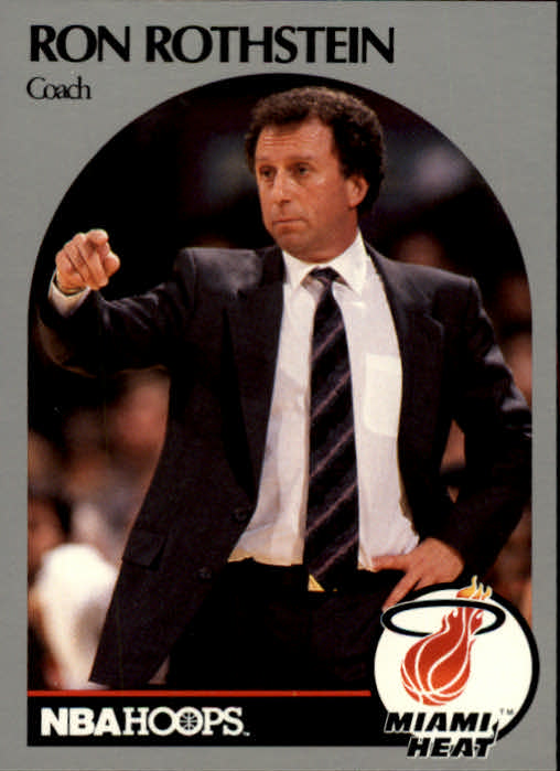 1990-91 Hoops #318 Ron Rothstein CO