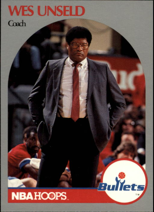 1990-91 Hoops #331 Wes Unseld CO