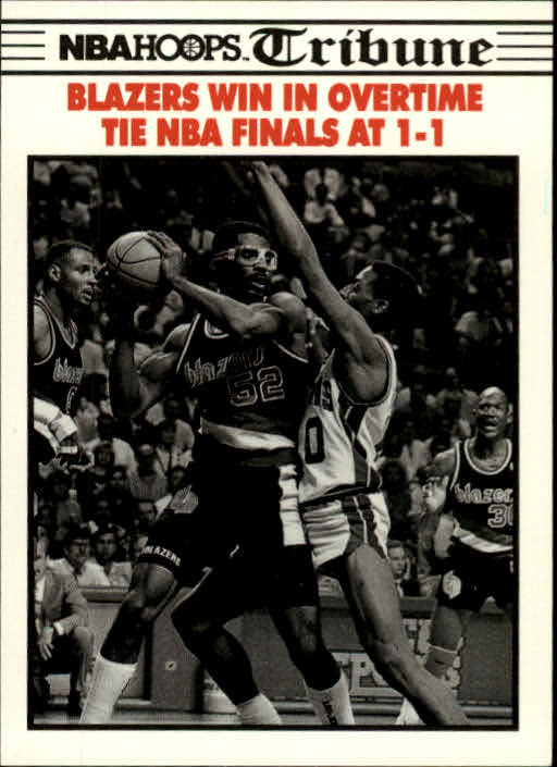 1990-91 Hoops #338 NBA Final Game 2