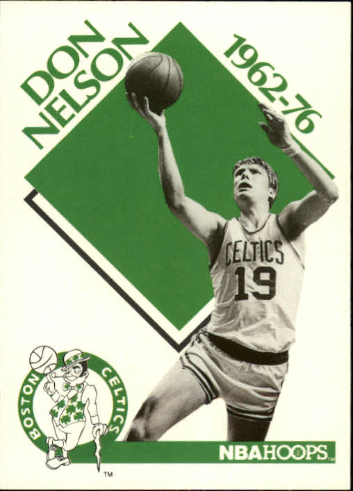 1990-91 Hoops #345 Don Nelson CO