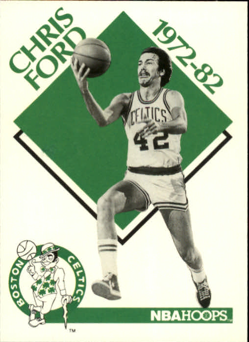 1990-91 Hoops #347 Chris Ford CO