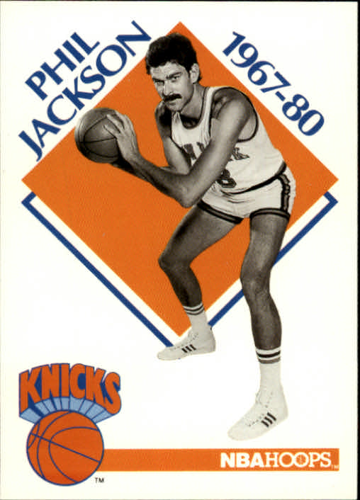 1990-91 Hoops #348 Phil Jackson CO