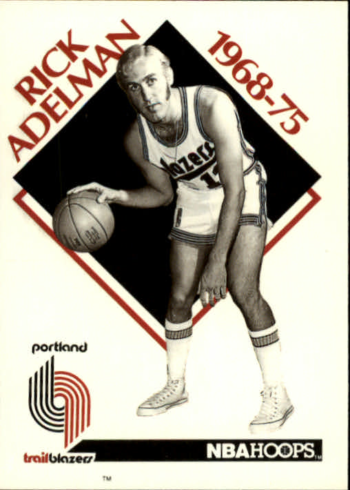 1990-91 Hoops #353 Rick Adelman CO