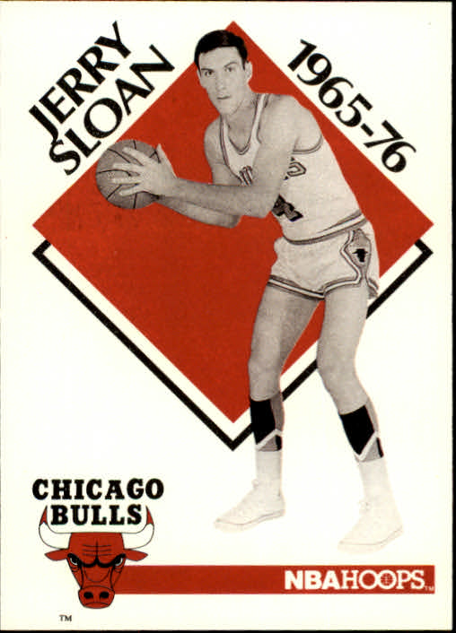 1990-91 Hoops #354 Jerry Sloan CO