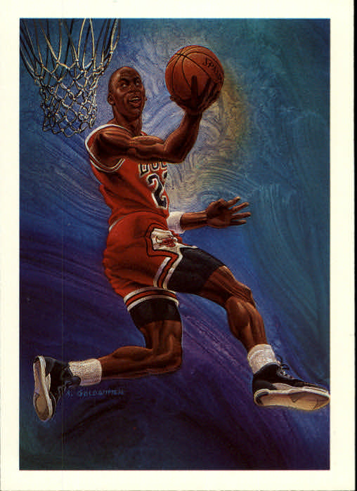 1990-91 Hoops #358 Michael Jordan TC