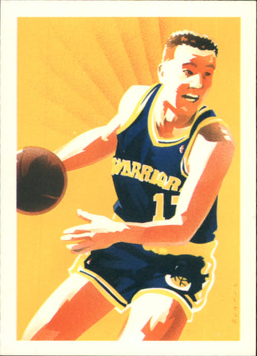 1990-91 Hoops #363 Chris Mullin TC