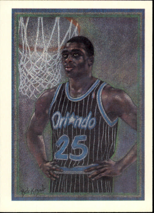 1990-91 Hoops #373 Nick Anderson TC