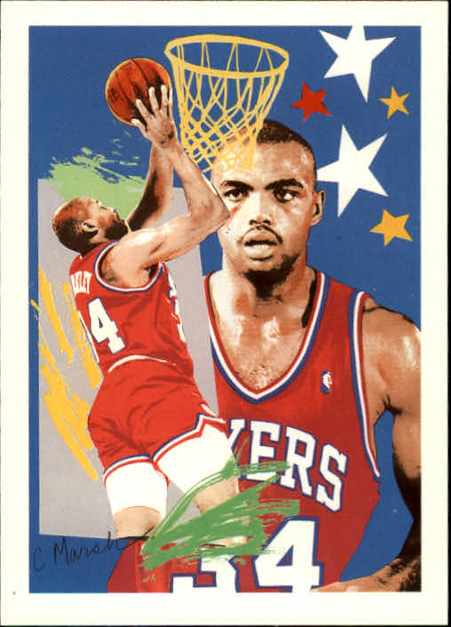 1990-91 Hoops #374 Charles Barkley TC
