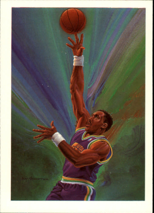 1990-91 Hoops #380 Karl Malone TC