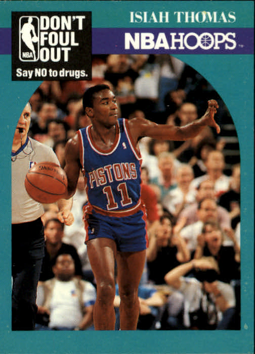 1990-91 Hoops #389 Isiah Thomas DFO