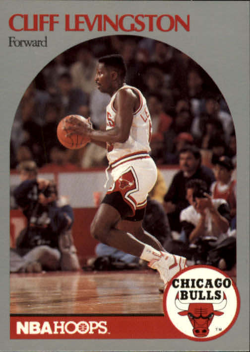 1990-91 Hoops #405 Cliff Levingston U